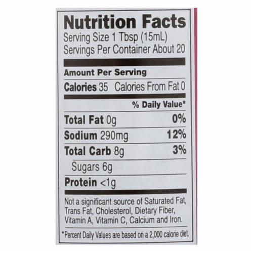 San-J Sauce - Hoisin - Gluten Free - Case of 6 - 10 fl oz Perspective: back