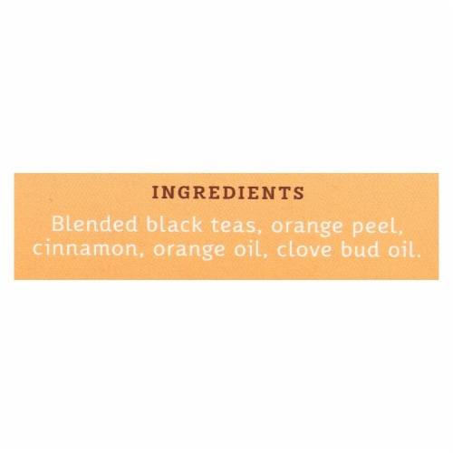 Stash Tea Tea - Black - Orange Spice - Case of 6 - 20 count Perspective: back