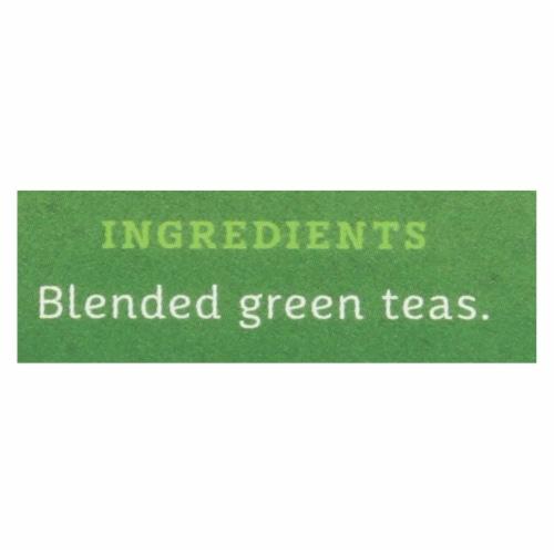 Stash Tea Organic Green Tea - Premium - Case of 6 - 20 Bags Perspective: back