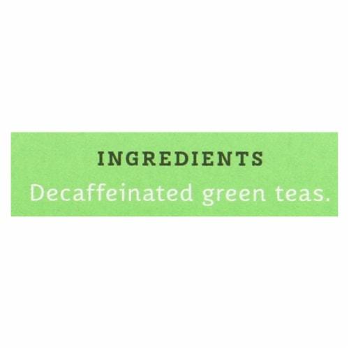 Stash Tea Decaf Tea - Premium Green - Case of 6 - 18 Bags Perspective: back