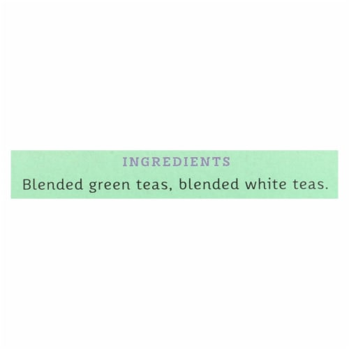 Stash Tea Green and White Fusion - 18 Tea Bags - Case of 6 Perspective: back