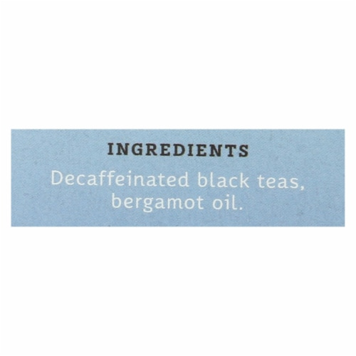 Stash Tea Black Tea - Earl Grey Decaf - Case of 6 - 18 Bags Perspective: back