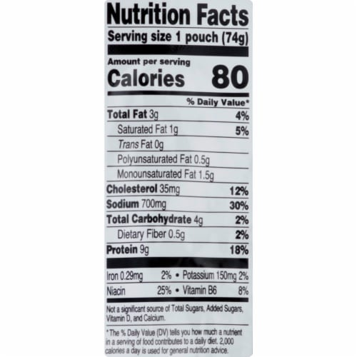 StarKist Chicken Creations Bold Buffalo Style Chicken Pouch Case Perspective: back