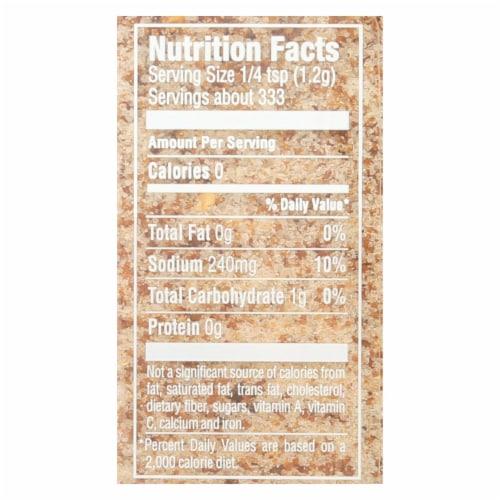 Simply Organic Turkey Brine Seasoning - Case of 6 - 14.1 oz. Perspective: back