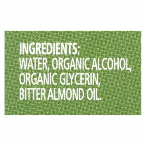 Simply Organic Almond Extract - Organic - 2 oz Perspective: back