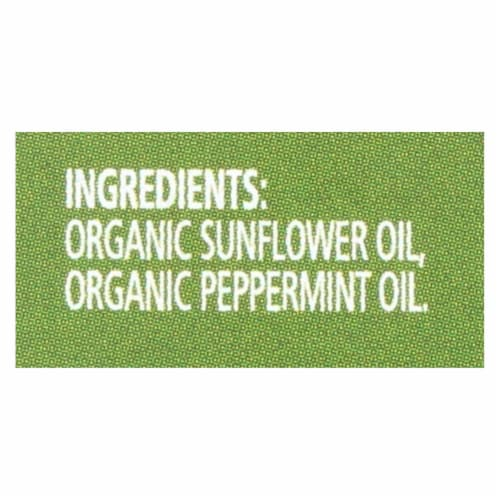 Simply Organic Peppermint Flavor - Organic - 2 oz Perspective: back