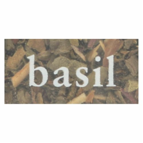 Simply Organic Basil Leaf - Organic - Sweet - Cut and Sifted - .18 oz - Case of 6 Perspective: back