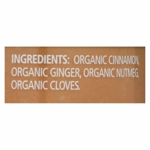 Simply Organic Pumpkin Pie Spice - Organic - .46 oz - Case of 6 Perspective: back