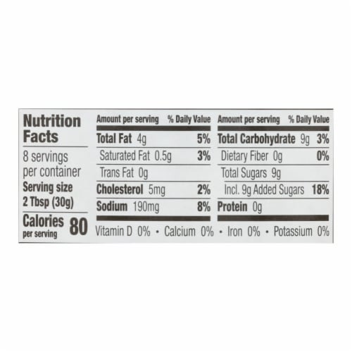 Annie's Naturals Lite Dressing Poppy Seed - Case of 6 - 8 fl oz. Perspective: back