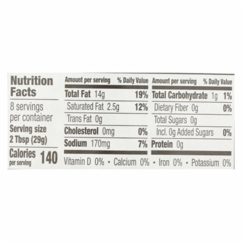 Annie's Naturals Vinaigrette Organic Red Wine and Olive Oil - Case of 6 - 8 fl oz. Perspective: back