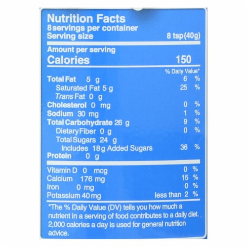 Nature's Charm Sweetened Condensed Coconut Milk - Case of 6 - 11.25 Fl oz. Perspective: back