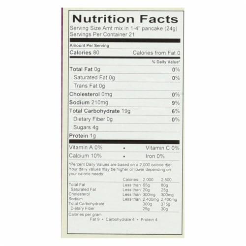Cherrybrook Kitchen - Pancake and Waffle Mix - Case of 6 - 18 oz. Perspective: back
