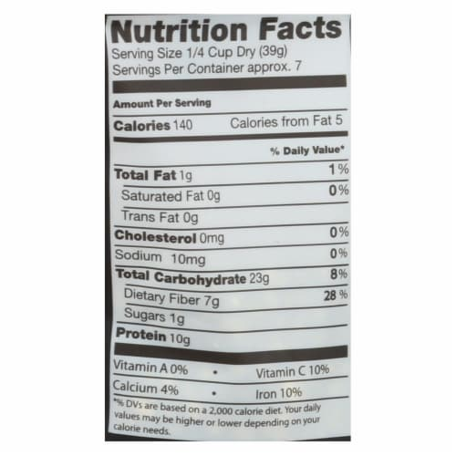 Truroots Organic Mung Beans - Sprouted - Case of 6 - 10 oz. Perspective: back