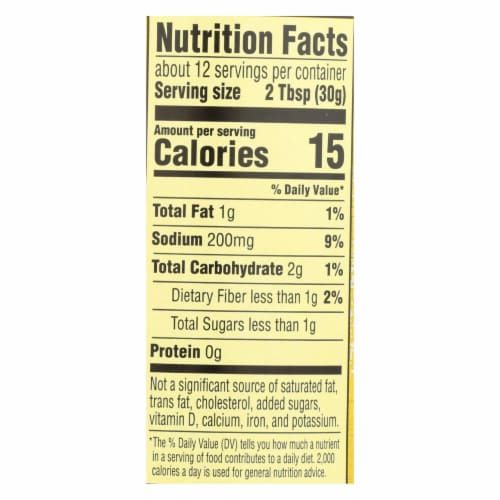 Frontera Foods Salsa - Especial Avocado Tomatillo Salsa-Roasted Garlic n Serrano-6Case-12.5oz Perspective: back