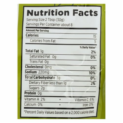 Frontera Foods Key Lime Cilantro Taco Skillet Sauce - Skillet Sauce - Case of 6 - 8 oz. Perspective: back