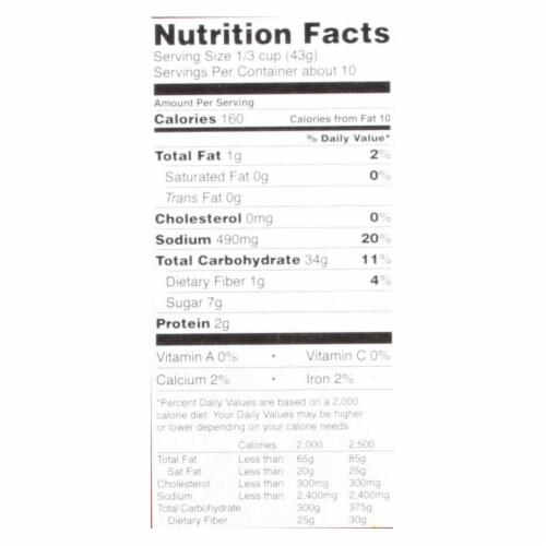 Kinnikinnick Pancake & Waffle Mix -Gluten Free - Case of 6 - 16 oz Perspective: back