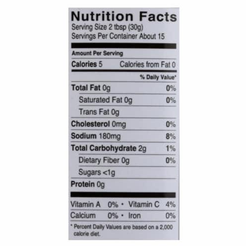 Fody Foods Gut Friendly No Onion No Garlic Medium Sala 16oz (Pack of 6) Perspective: back