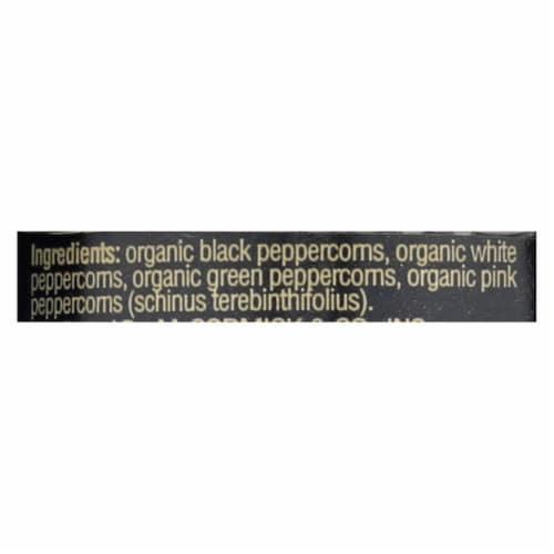 Drogheria and Alimentari Spice Mill - Organic 4 Seasons Peppercorns - 1.24 oz - Case of 6 Perspective: back