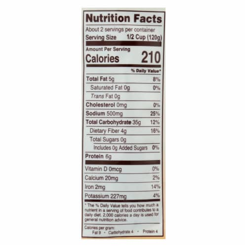 Nature's Earthly Choice Quinoa & Barley - Case of 6 - 8.5 OZ Perspective: back