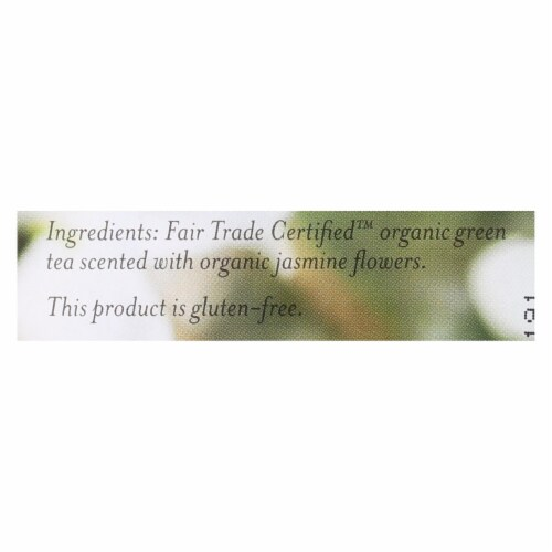 Numi Tea Jasmine Green Tea - Medium Caffeine - 18 Bags Perspective: back
