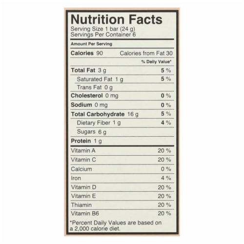 MadeGood Chocolate Chip Granola Bars Perspective: back