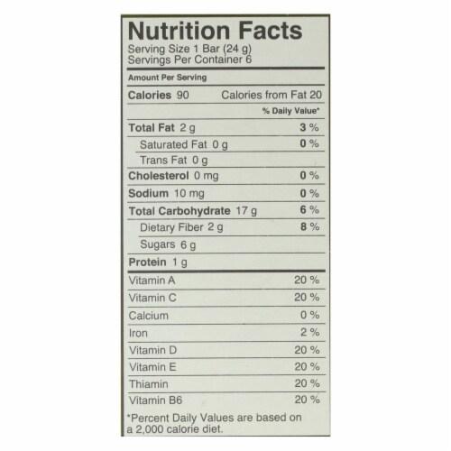 Made Good Granola Bar - Apple Cinnamon - Case of 6 - 5 oz. Perspective: back