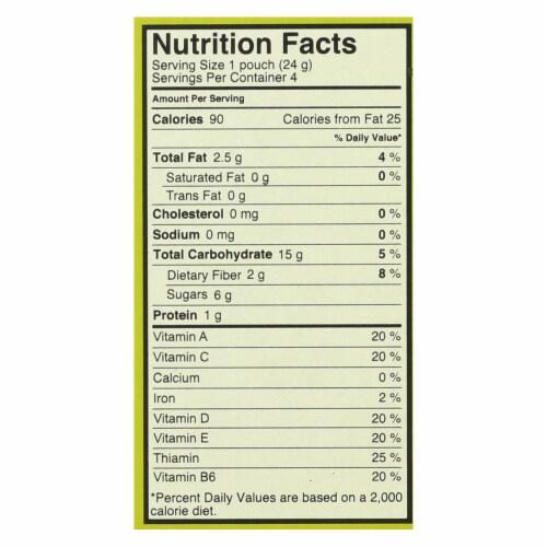 Made Good Granola Minis - Apple Cinnamon - Case of 6 - 3.4 oz. Perspective: back