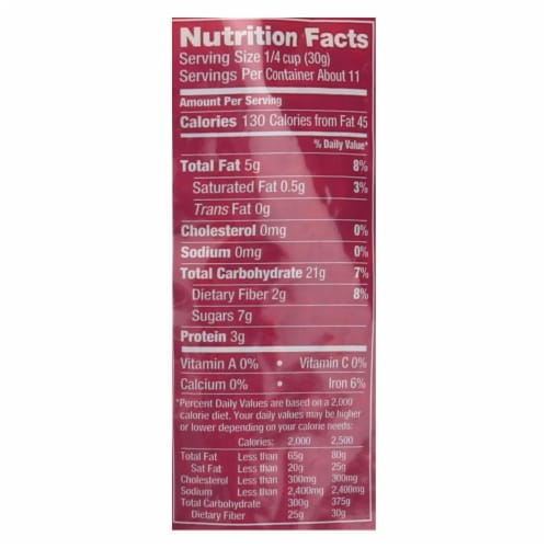 Udi's Cranberry Granola  - Case of 6 - 11 OZ Perspective: back