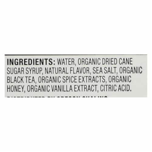 Oregon Chai Tea Latte Concentrate - Salted Caramel - Case of 6 - 32 Fl oz. Perspective: back