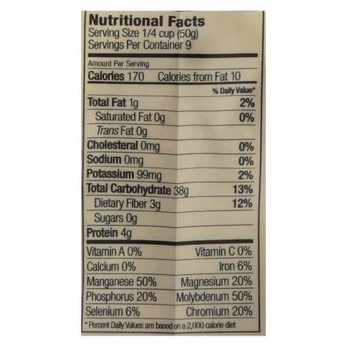 Lotus Foods Heriloom Bhutan Red Rice - Case of 6 - 15 oz. Perspective: back