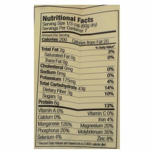 Lotus Foods Heirloom Forbidden Black Rice - Case of 6 - 15 oz. Perspective: back