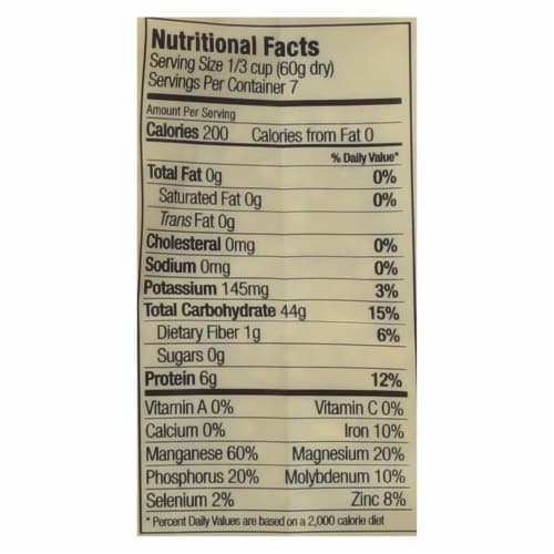 Lotus Foods Organic Volcano Rice - Case of 6 - 15 oz. Perspective: back