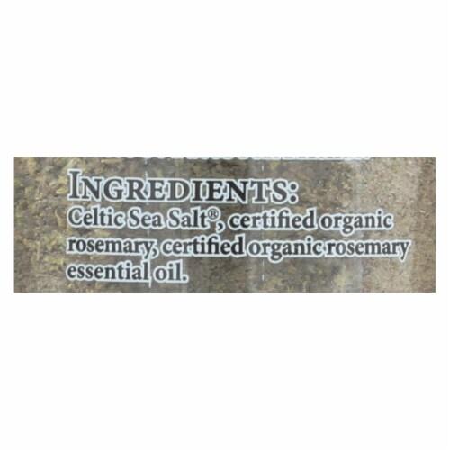 Celtic Sea Salt Sea Salt - Organic - Rosemary - Case of 6 - 3.7 oz Perspective: back