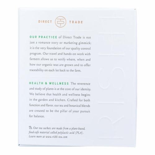 Rishi - Organic Tea - Matcha Ginger Buzz - Case of 6 - 15 Bags Perspective: back