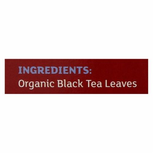 Equal Exchange Organic Black Tea - Black Tea - Case of 6 - 20 Bags Perspective: back