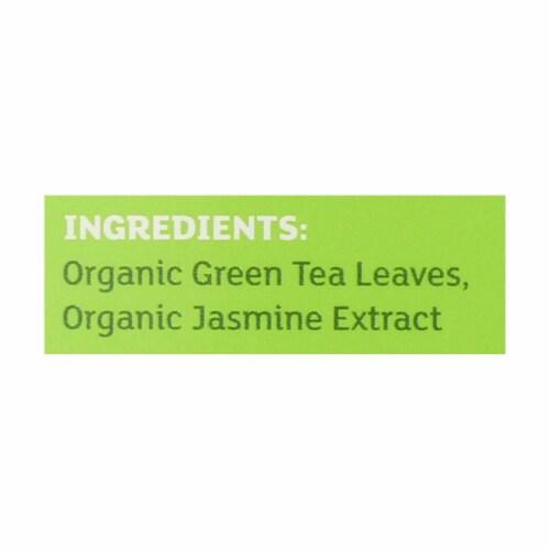 Equal Exchange Organic Jasmine Green Tea - Jasmine - Case of 6 - 20 Bags Perspective: back