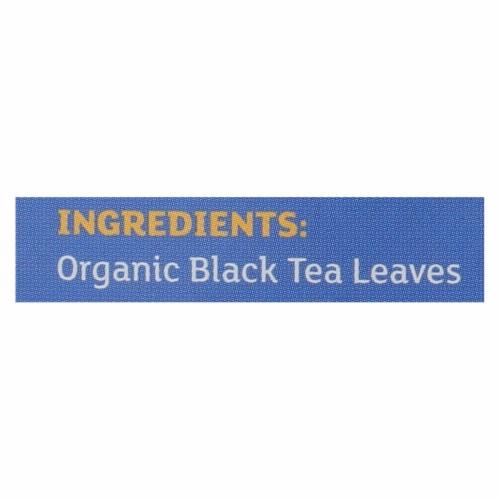Equal Exchange Organic English Breakfast Tea - English Breakfast Tea - Case of 6 - 20 Bags Perspective: back