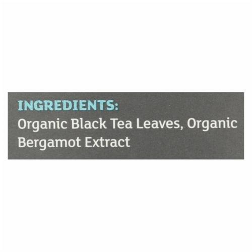 Equal Exchange Organic Earl Grey Tea - Grey Tea - Case of 6 - 20 Bags Perspective: back