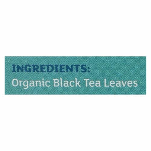 Equal Exchange Organic Irish Breakfast Tea - Irish Breakfast - Case of 6 - 20 Bags Perspective: back