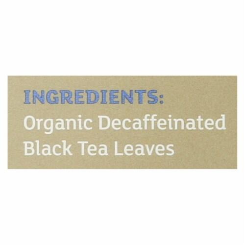Equal Exchange Organic Black Tea English Breakfast - English Breakfast - Case of 6 - 20 Bags Perspective: back