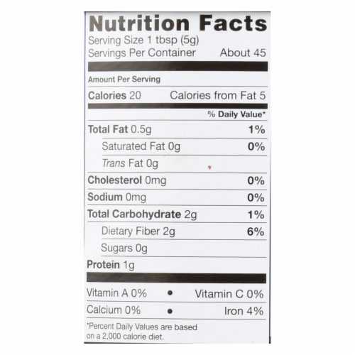 Equal Exchange Organic Baking Cocoa - Case of 6 - 8 oz. Perspective: back