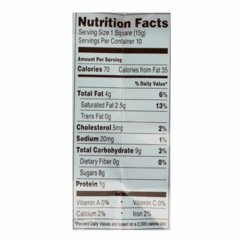 Ghirardelli Milk Chocolate Caramel Squares  - Case of 6 - 5.32 OZ Perspective: back