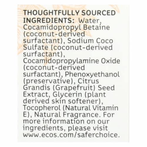 ECOS Hand Soap - Orange Blossom - Case of 6 - 8 fl oz. Perspective: back