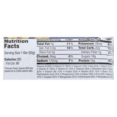 Balance Bar - Yogurt Honey Peanut - 1.76 oz - Case of 6 Perspective: back
