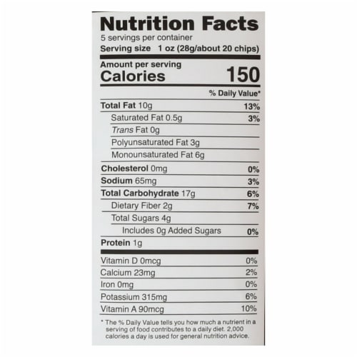 Good Health Sweet Chipotle - Sweet Potato - Case of 12 - 5 oz. Perspective: back