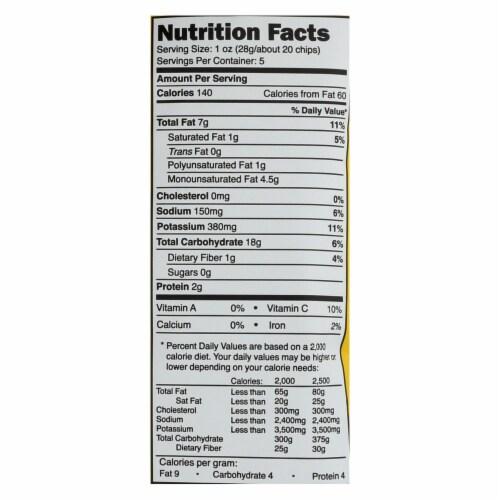 Good Health Olive Oil - Sea Salt and Vinegar - Case of 12 - 5 oz. Perspective: back