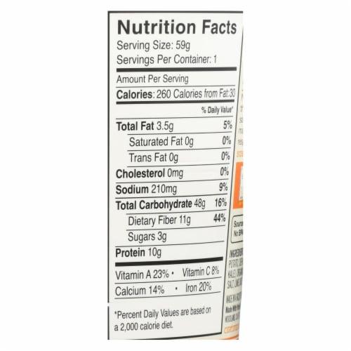 Dr. Mcdougall's Quinoa Salad - Sweet Potato Kale - Case of 6 - 2.1 oz Perspective: back