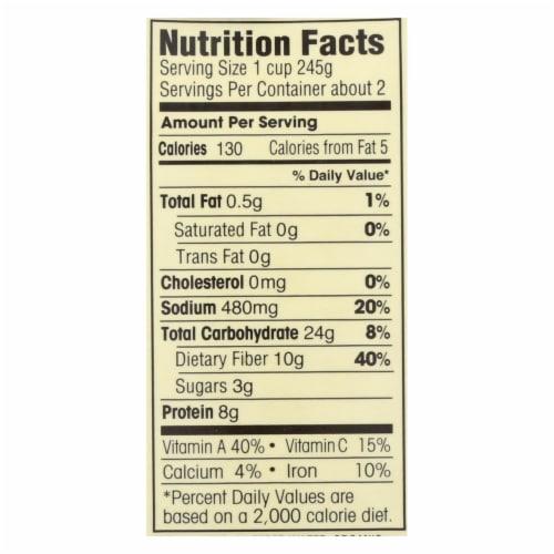 Dr. McDougall's Organic Lentil Vegetable Soup - Case of 6 - 18 oz. Perspective: back