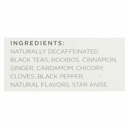 Tazo Tea Spiced Black Tea - Decaffeinated Tazo Chai - Case of 6 - 20 BAG Perspective: back