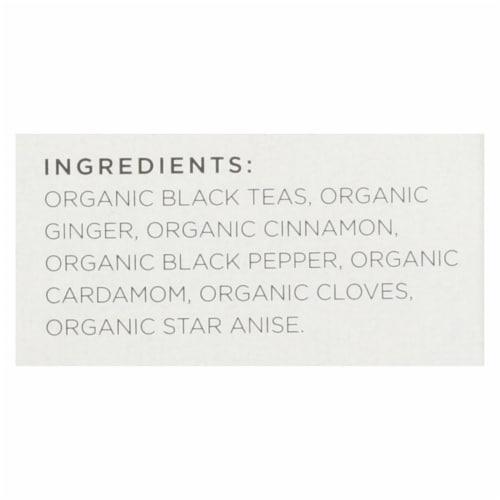 Tazo Tea Organic Tea - Spiced Black Chai - Case of 6 - 20 BAG Perspective: back